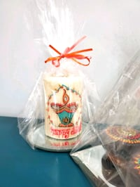 diwali gifts hand painted customizable candles for sale.  Milton, L9T 7V2