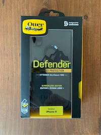 OTTER BOX DEFENDER CASE WITH BELT CLIP for IPHONE X or XS Hagerstown, 21740