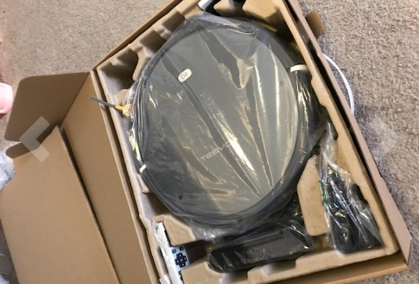 dcb037a45a5 Used Tesvor X-500 Smart GPS room mapping Vacuum robot brand new in box  (cost 345  on Amazon) for sale in Houston - letgo