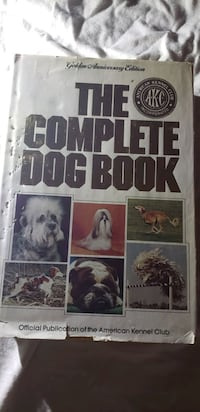 AKC Complete Dog Book Golden Edition Series