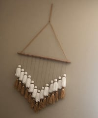 Handmade tassel wall hanging decor Modesto, 95355