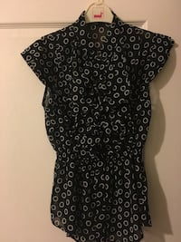 Black blouse - Size small