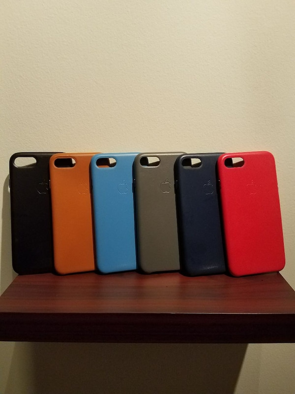 iPhone 7 OEM Leather Case Multi-Color