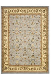 Traditional Oriental Light Blue/ Ivory Rug - 10' x 14' Ashburn, 20148