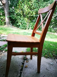8 wooden Ikea chairs $20 each or $120 for all of them Richmond Hill, L4C 2V6