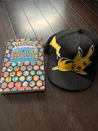 Pokemon Book and Hat Vaughan, L4L 5Y9