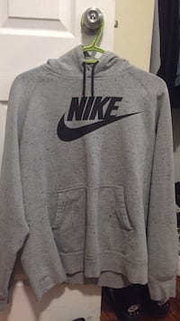 Gray and black nike pullover hoodie Toronto, M9L 2G7