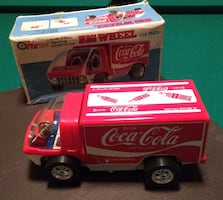 Rare 1973 Coca Cola electric truck