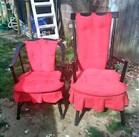 Set of 2 Mid century Chairs Frank & Son   Philadelphia, 19135