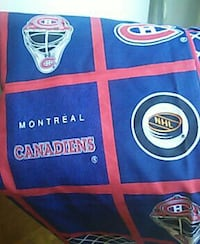 blue and red Montreal Canadiens banner Montréal, H2L 5E9