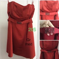 Woman's dress worn once Laval, H7X 3R8