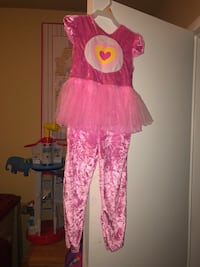 Size 2-t -3t Care Bears costume worn once $10