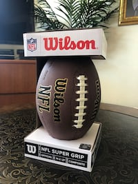 Brand New Wilson NFL Super Grip Football Official American Outdoor Ball Leather Junior Toronto, M1N 1N6