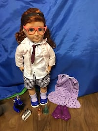 Our Generation Sia Doll and accessories East Gwillimbury, L0G 1V0