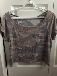 Camouflage crop top 3126 km