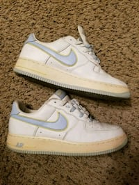 Air force 1 (white w/ lt blue/yell swoosh) Clarksville, 37040