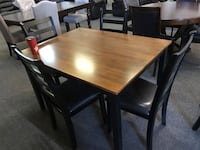 Brand new 5pc 2tone wooden dining set warehouse sale  多伦多, M1S 4A9