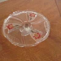 clear glass bowl with lid Manchester, 08759