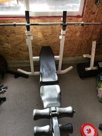 Brunch press, lat pull down, free weights Port Coquitlam, V3B 3G5