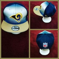 blue and white fitted cap Capitol Heights, 20743