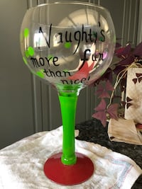 Never used BiG Funny Wine glass