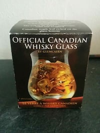 Official Canadian Wiskey Glass Orangeville, L9W 1K2