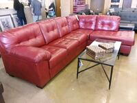 Red leather sectional sofa on sale  Phoenix, 85018