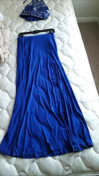 Two piece royal blue prom dress San Antonio, 78216