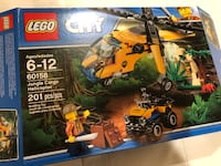 60158 - Jungle Cargo Helicopter Sterling