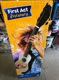 Guitar first act in box Taneytown, 21787