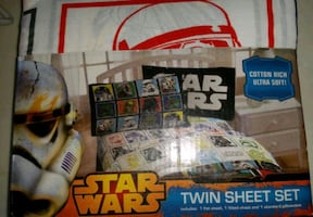 Star Wars twin sheet set. PRICE REDUCED