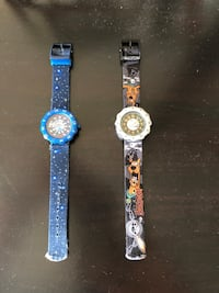 Children SWATCH watches. Working perfectly. New battery installed. Ottawa, K2B 7T1