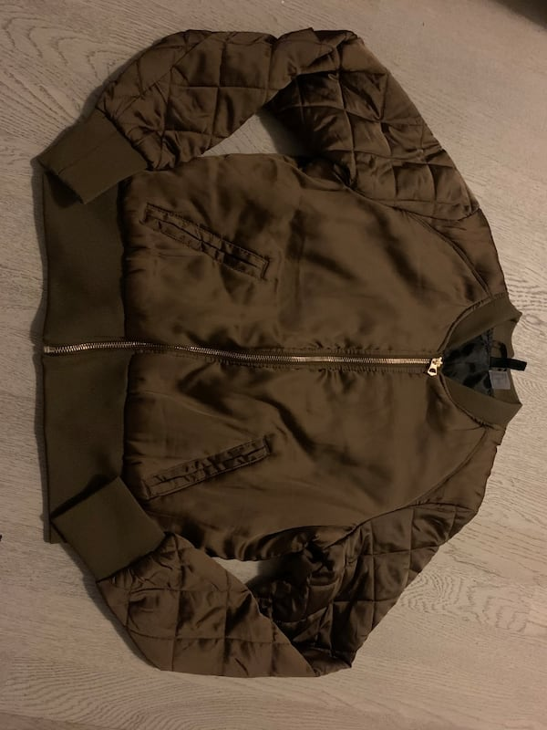 H&M bomber jacket women's 0