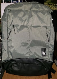 NIKE Basketball Gray Backpack Lawndale, 90260