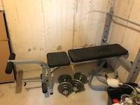 Gym bench fit 400