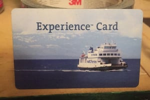 Bc Ferries Experience Card