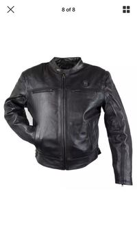 Brand new Heated Leather motorcycle jacket with armor Los Angeles, 91324