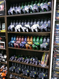 N64 video game systems