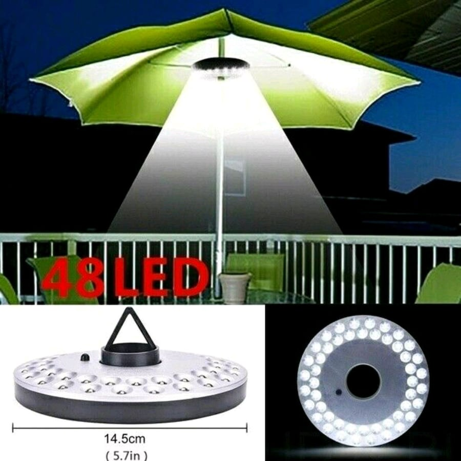 Patio Umbrella Pole LED Light