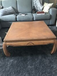 Rustic solid wood coffee + side tables Mississauga, L5A 1N2