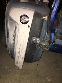 1950's Evanrude electric start or pull string motor