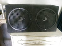 black Pioneer subwoofer with enclosure Cape Coral, 33991