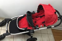 City select baby jogger stroller with accessories