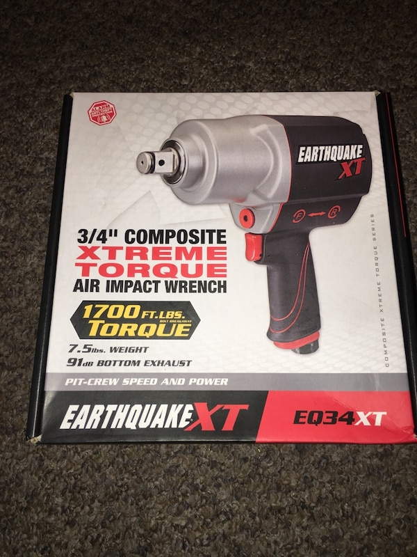 Used Black And Gray Craftsman Cordless Impact Wrench Box For In Oakland Letgo