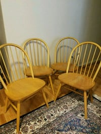 Four Oak windsor chairs Colorado Springs, 80922