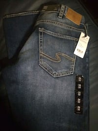 Men's Silver Jeans 36x32 Saint Paul, 55101