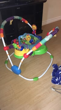 Baby's white, green and blue jumperoo Halifax, B3M 3M5