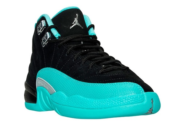 6a98fe403b89 Used Teal and black air jordan 12 for sale in Wall - letgo