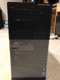 black and gray Dell computer tower Germantown, 20876