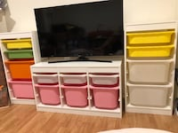 Storage for kids with boxes Falls Church